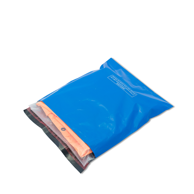 Blue Polythene Mailing Sacks - ds1