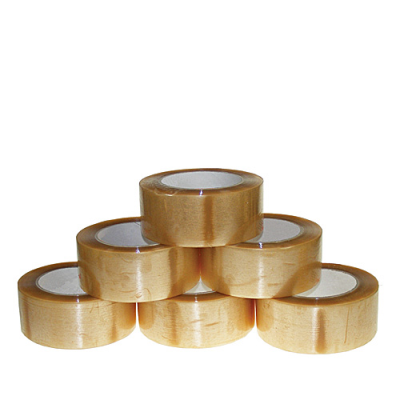 Standard Clear 48 mm Solvent Packing Tapes