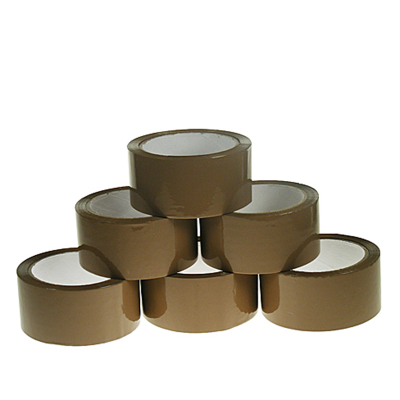Standard Brown 48 mm Solvent Packing Tapes