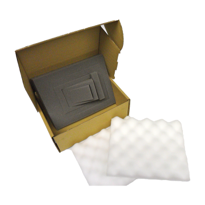 Foam Lined CD ROM boxes