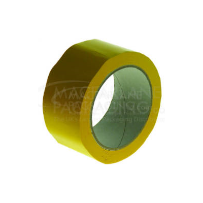 Yellow PVC Tape 50mm x 66m