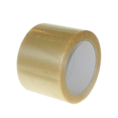 Standard Clear 75 mm Solvent Packing Tapes