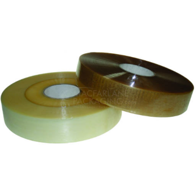 Machine Applied 48 mm Clear Solvent Tape