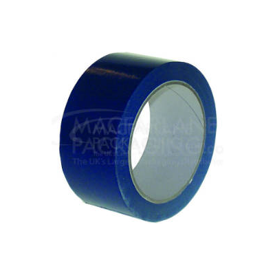 Blue PVC 48 mm Solvent Packing Tapes