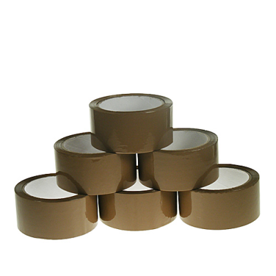 POLYPROP BROWN HM TAPE 75mm x 66M