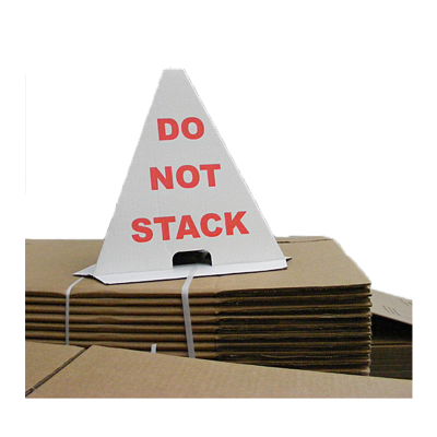 PRINTED DO NOT STACK CONE