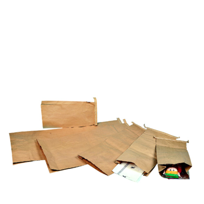 2Ply Guss Paper Sacks 13x4x18""