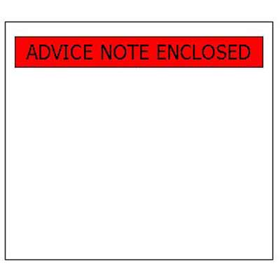 A7 Print Advice Note Enclosed Doc