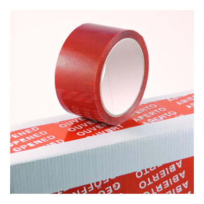 TAMPER EVIDENT TAPE(RED)