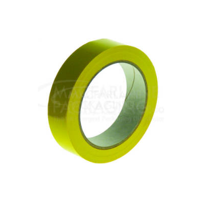 YELLOW PVC TAPE 25MM X 66M