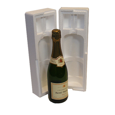 ONE BOTTLE CHAMPAGNE POLYSTYRENE