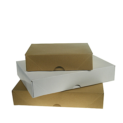 SINGLE REAM A5 BROWN BOX & LID