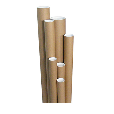 POSTAL TUBES WITH END CAPS 330x63.5x1.5mm