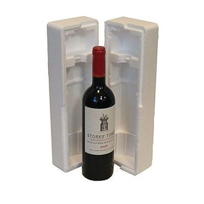 SINGLE BOTTLE POLYSTYRENE PACK