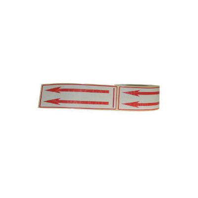 ROLLS S/A LABELS 6 X 2PTD RED