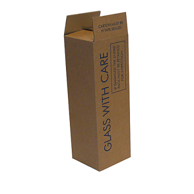 SINGLE BOTTLE CARTON 115x115x365mm