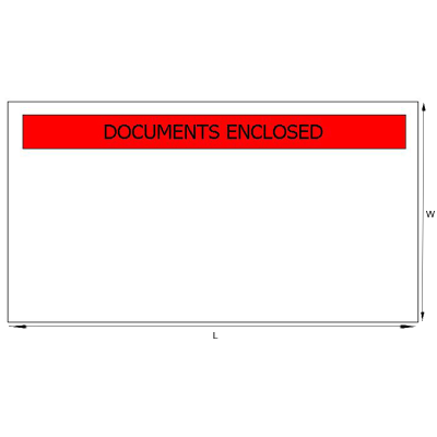 Dl (Din Long) Print Doc Enclosed