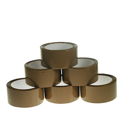 Standard Brown 48 mm Hot Melt Packing Tapes