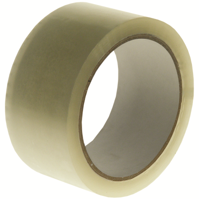 75mmx66m Polyprop Hot Melt Tape Clear