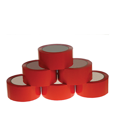 48mmx66m Polyprop Hot Melt Tape Red