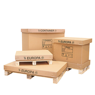 Palletised Container (1/2 Europa)