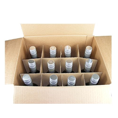 12 Bottle Box with Pop Up Dividers