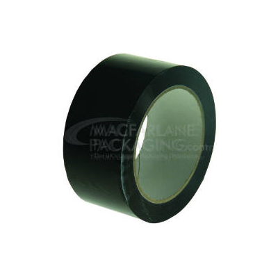 Black PVC 48 mm Solvent Packing Tapes