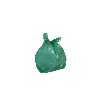 Green Recycling Refuse Sacks