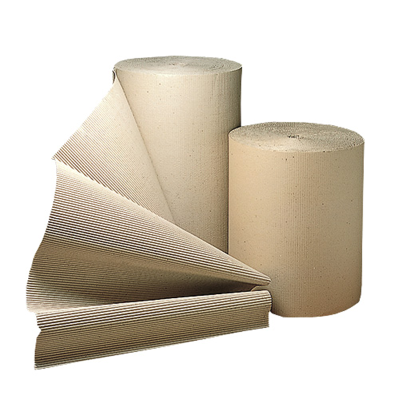 SINGLE FACED CORRUGATED ROLL 750mm x 75M