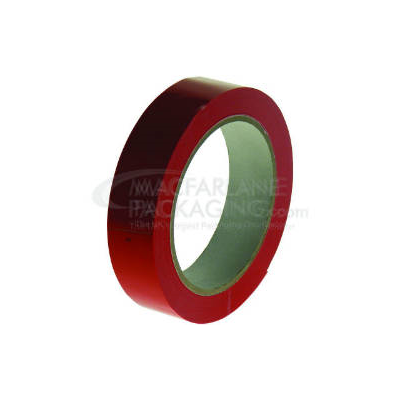 Red PVC Tape 25mm x 66m