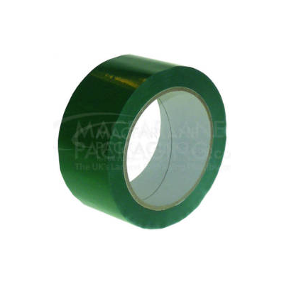DARK GREEN PVC TAPE 48MM X 66M