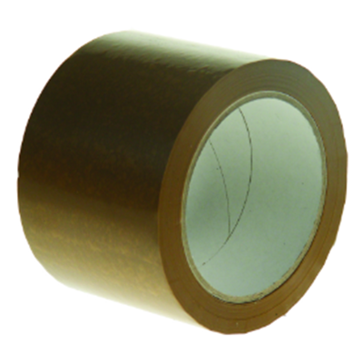 Standard Brown 75 mm Solvent Packing Tapes